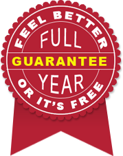 Feel Better or It's Free Full Year Guarantee